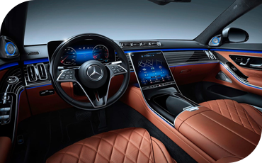 All-New S-Class Dashboard