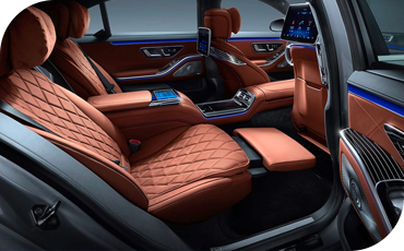 All-New S-Class Rear Seats
