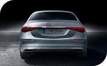 All-New S-Class Rear End