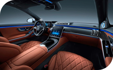 All-New S-Class Interior