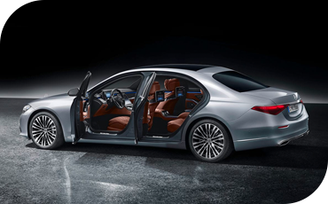 All-New S-Class Exterior With Doors Open