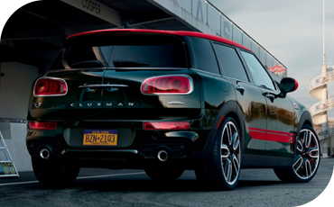 Entry-level MINI Clubman models feature the more powerful Cooper S powertrain and four-cylinder turbocharged engine