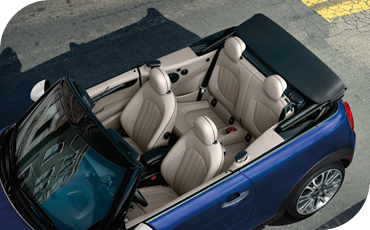 The 3-stage convertible top offers greater flexibility than most soft-top convertibles with its standard sunroof mode