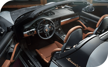 911 Speedster Interior