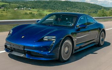 Impressive power is standard in the 2020 Porsche Taycan
