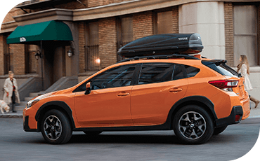 Compare the new 2019 Subaru Crosstrek vs Nissan Kicks Driver Assistance Technology