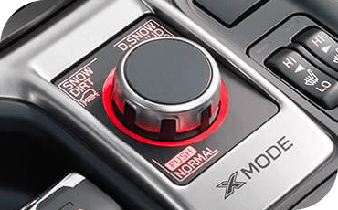 This knob controls the X-MODE system that helps the 2019 Forester crawl with control over rough terrain.