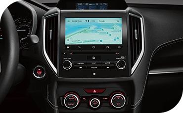 Turn-by-turn navigation is available to guide you to your destination.