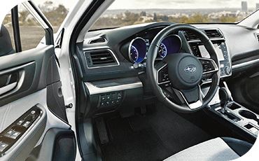 Compare 2019 Subaru Legacy vs Toyota Camry Driver Assistance features.