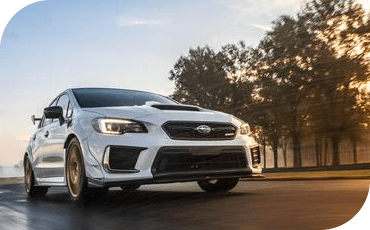 With a powerful engine, the Subaru STI S209 is ready for the track