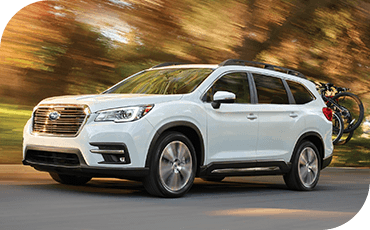 Subaru Ascent On Country Road