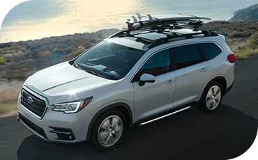 Subaru Ascent driving