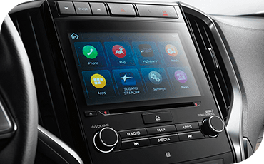 2020 Subaru Ascent touchscreen