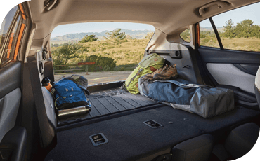 You'll be impressed with how roomy the 2020 Subaru Crosstrek is