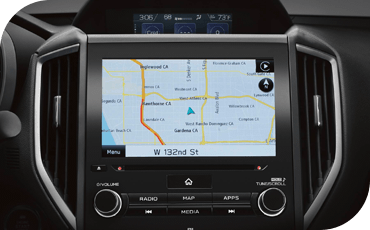 Available navigation helps you get where you need to go with ease