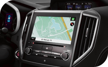 The 2020 Subaru Impreza offers an available 8-inch touchscreen with navigation