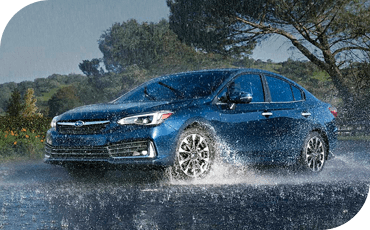 Standard AWD gives the 2020 Subaru Impreza traction that other small cars lack