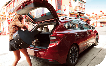 The 2020 Subaru Impreza 5-Door provides exceptional hatchback cargo space