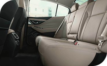 Subaru Legacy rear seats