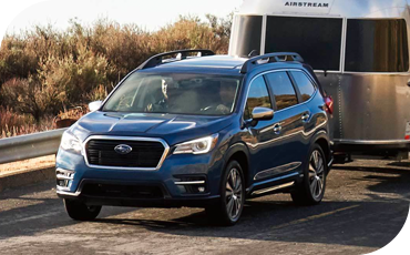 The Subaru Ascent allows for powerful performance, including up to 5,000 pounds of towing