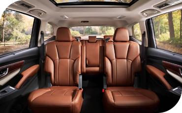 With available java brown leather and captain's chairs, the 2021 Subaru Ascent can be a downright luxurious family SUV