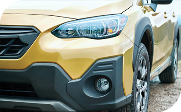 New LED headlights and a new front bumper design arrive on the 2021 Subaru Crosstrek