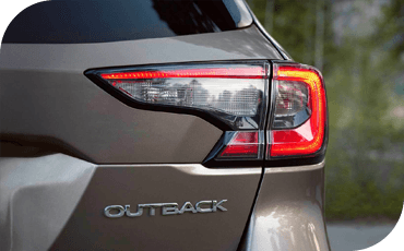 LED exterior lighting lends a premium look and superior vision to the new Subaru Outback