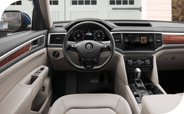2019 VW Atlas SUV Infotainment