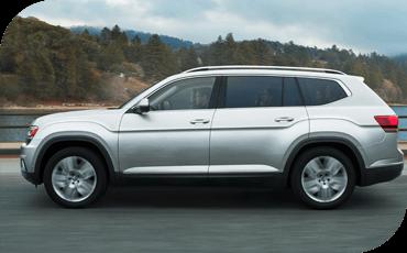 Compare new 2019 Volkswagen Atlas vs Nissan Murano Performance Information
