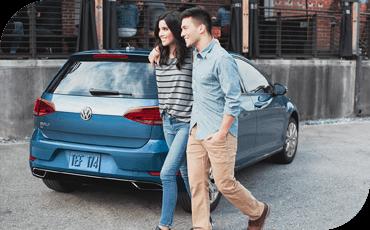 Compare new 2019 Volkswagen Golf vs Subaru Impreza 5dr Driver Assistance Benefits