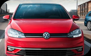 Compare new 2019 Volkswagen Golf vs Subaru Impreza 5dr Interior Styling