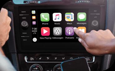 Compare new 2019 Volkswagen Golf vs Subaru Impreza 5dr Technology Benefits