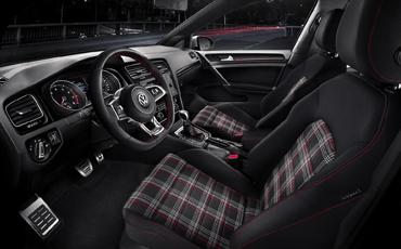 Compare new 2019 Volkswagen Golf GTI vs Subaru WRX Interior Styling