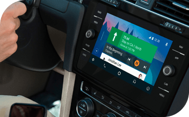 VW Golf GTI Android Auto