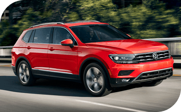 Compare new 2019 Volkswagen Tiguan vs Toyota RAV4 Performance Information