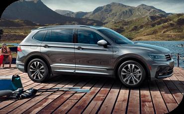 Compare new 2019 Volkswagen Tiguan vs Toyota RAV4 Driver Assistance Benefits