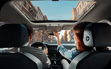 Compare new 2019 Volkswagen Jetta vs Toyota Corolla Interior Styling