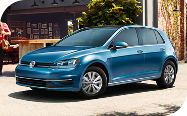 A sleek and elegant design is the hallmark of the Volkswagen Golf