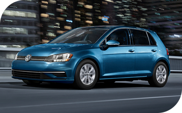 Fun, responsive performance is standard in the VW Golf