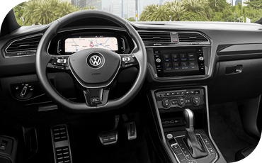 The available Volkswagen Digital Cockpit is one of the many stunning features offered by the 2020 VW Tiguan