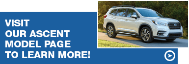 Read up on standard features for the 2019 Subaru Ascent provided by Subaru Superstore in Chandler
