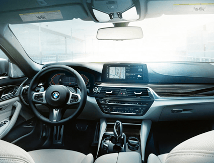 2020 Subaru BMW 5 Series's Interior