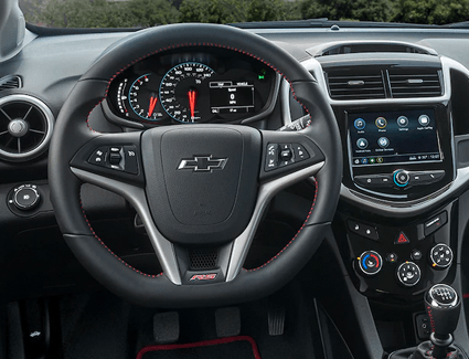 Captivating 2018 Chevrolet Sonic Interior Pictures Gallery