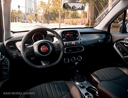 2015 FIAT 500 Pop's Interior