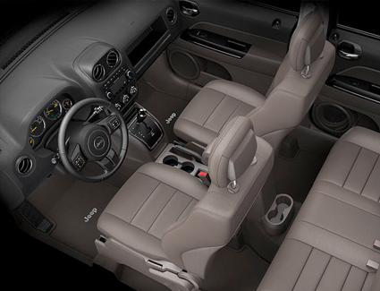 2016 Jeep Patriot's Interior
