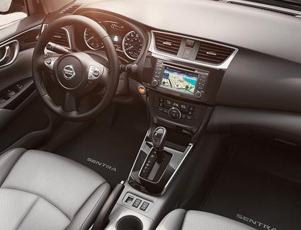 2017 Nissan Sentra's Interior