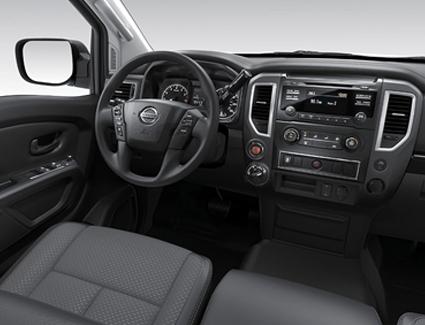 2017 Nissan Titan's Interior