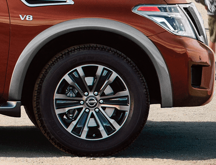 2018 Nissan Armada's Safety