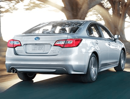2017 Subaru Legacy's Performance