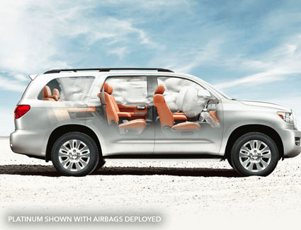 2016 Toyota Sequoia's Safety
